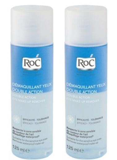 Roc Roc Çift Etkili Göz Makyaj Temizleyicisi 125 Ml X 2 Adet Renksiz